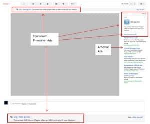 pubblicità gmail
