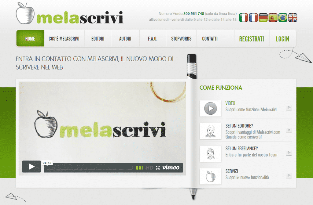 Melascrivi Content Marketplace