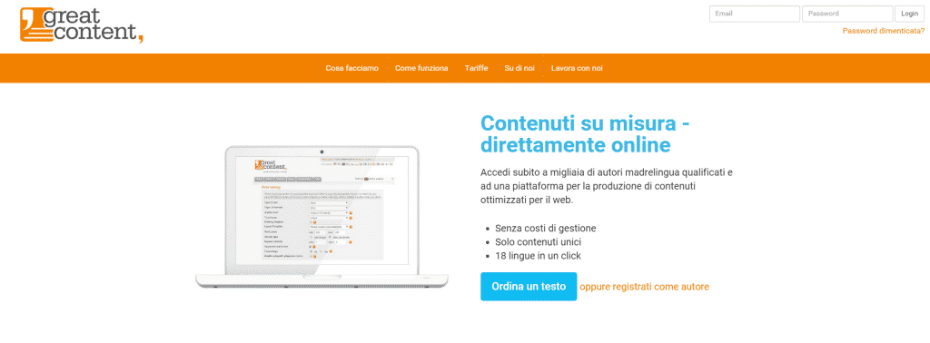 greatcontent.it – content marketplace